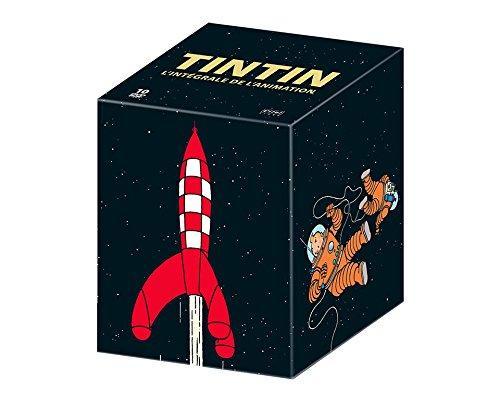 Coffret 10 DVD Intégrale Tintin (l'intégrale de la série et des longs métrages d'animation) - Édition limitée