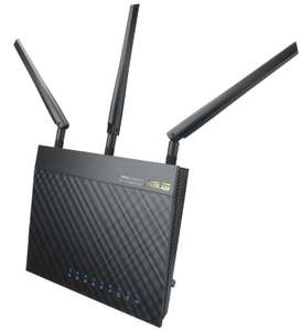Router WiFi Asus RT-AC66 - AC1750, Double Bande