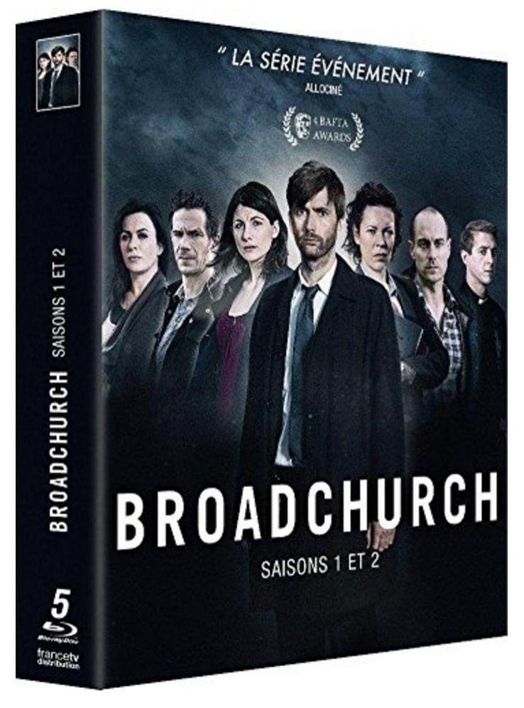 Coffret Blu-ray : Broadchurch Saisons 1 et 2