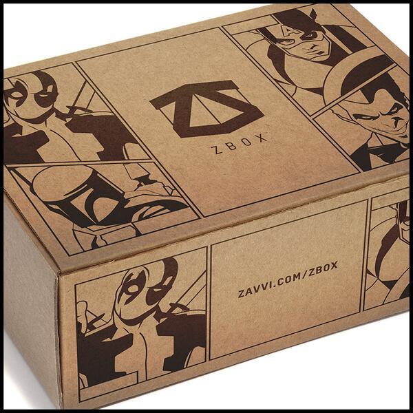 Abonnement Zbox sur l'Univers Marvel (sans engagement)