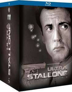 Coffret Blu-Ray Ultra Stallone Collection - 7 Films