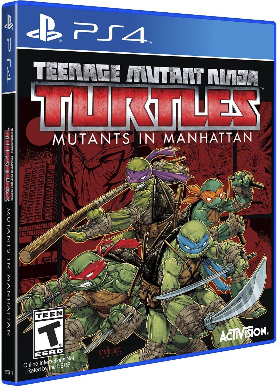 Teenage Mutant Ninja Turtles: Mutants in Manhattan sur PS4 - Frais de livraison et de douane inclus