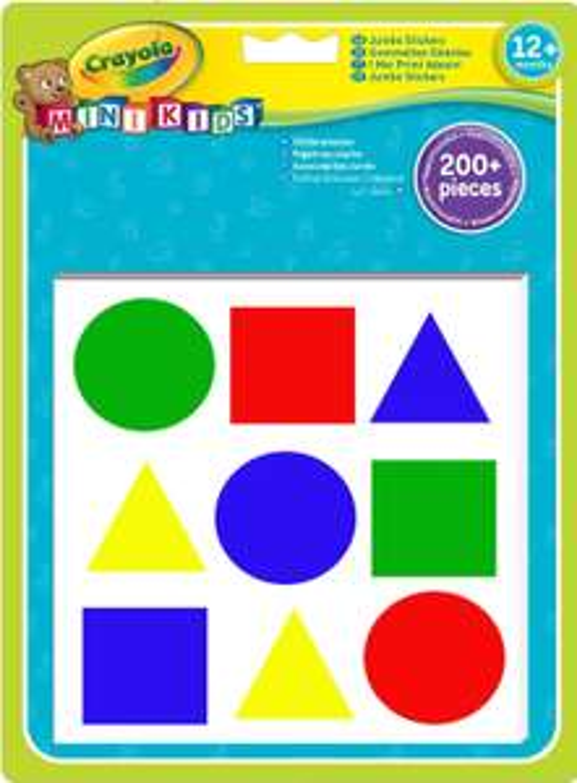 [Panier Plus] Kit de loisirs créatifs Crayola Mini Kids 9300000 - 234 Gommettes repositionnables
