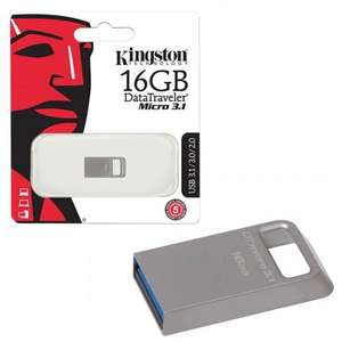 Sélection de clés USB Kingston DataTraveler en promo - Ex : Clé USB 3.1 Kingston DataTraveler Micro - 64 Go
