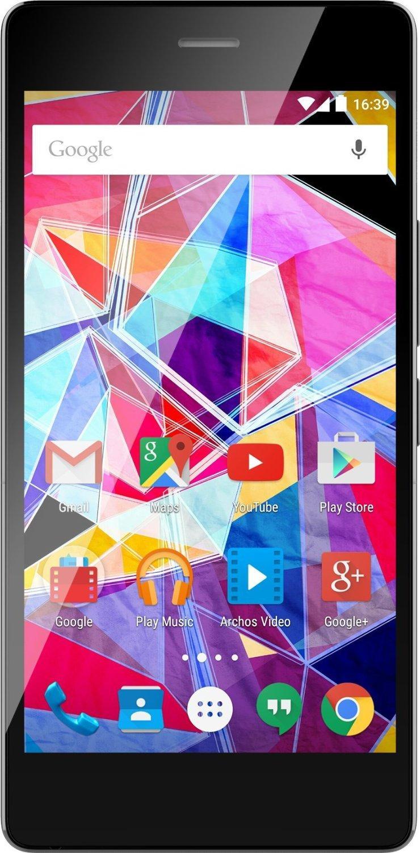 "Smartphone 5"" Archos Diamond S 4G (Octo-Core 1.5 GHz, RAM 2 Go, ROM 16 Go, Double SIM) - Noir"