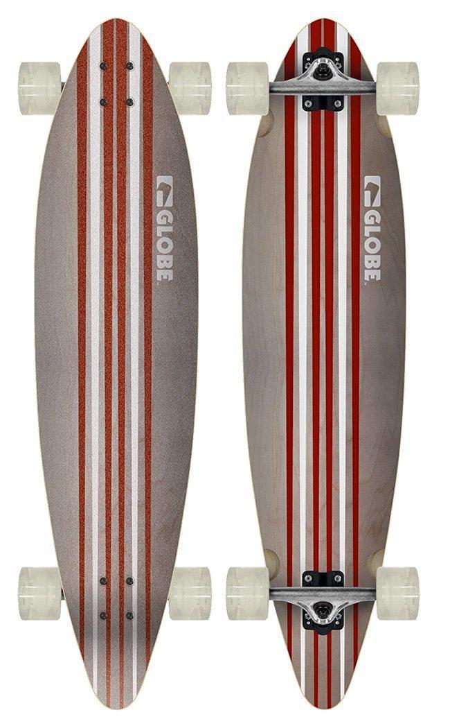 Sélection de Longboards Globe en promo  - Ex : Longboard Globe Pinner (104 x 25 x 12 cm)