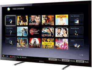 "TV 46"" Sony KDL-46HX750 LED 3D, 1080p, 400 Hz, 4 HDMI, USB"