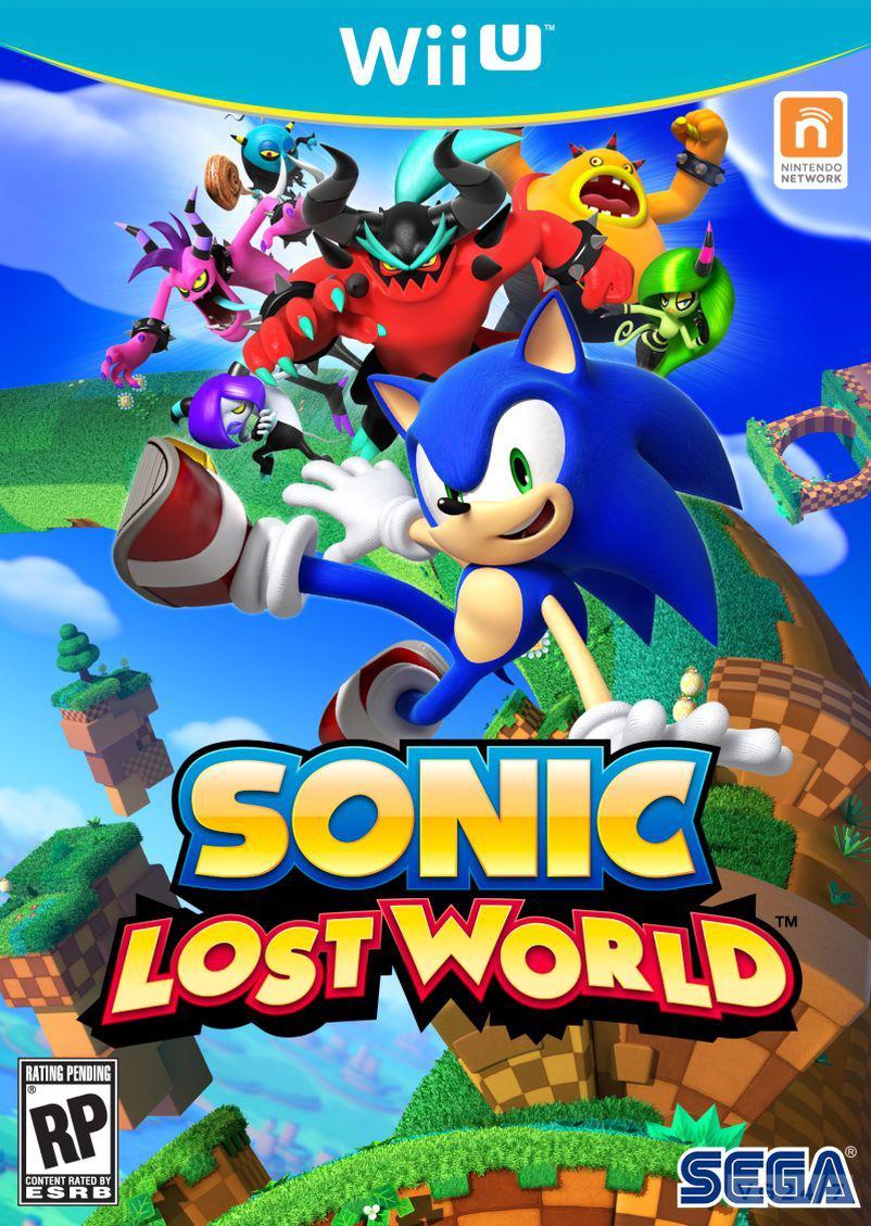 [Pré-commande] Sonic Lost World sur Wii U
