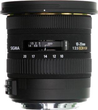 Objectif zoom ultra grand angle Sigma 10-20mm f3.5 EX DC HSM - Monture Canon ou Nikon