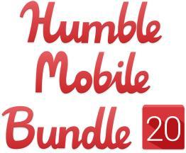 Humble Mobile Bundle 20 : 4 Jeux sur mobile (Dématérialisé)