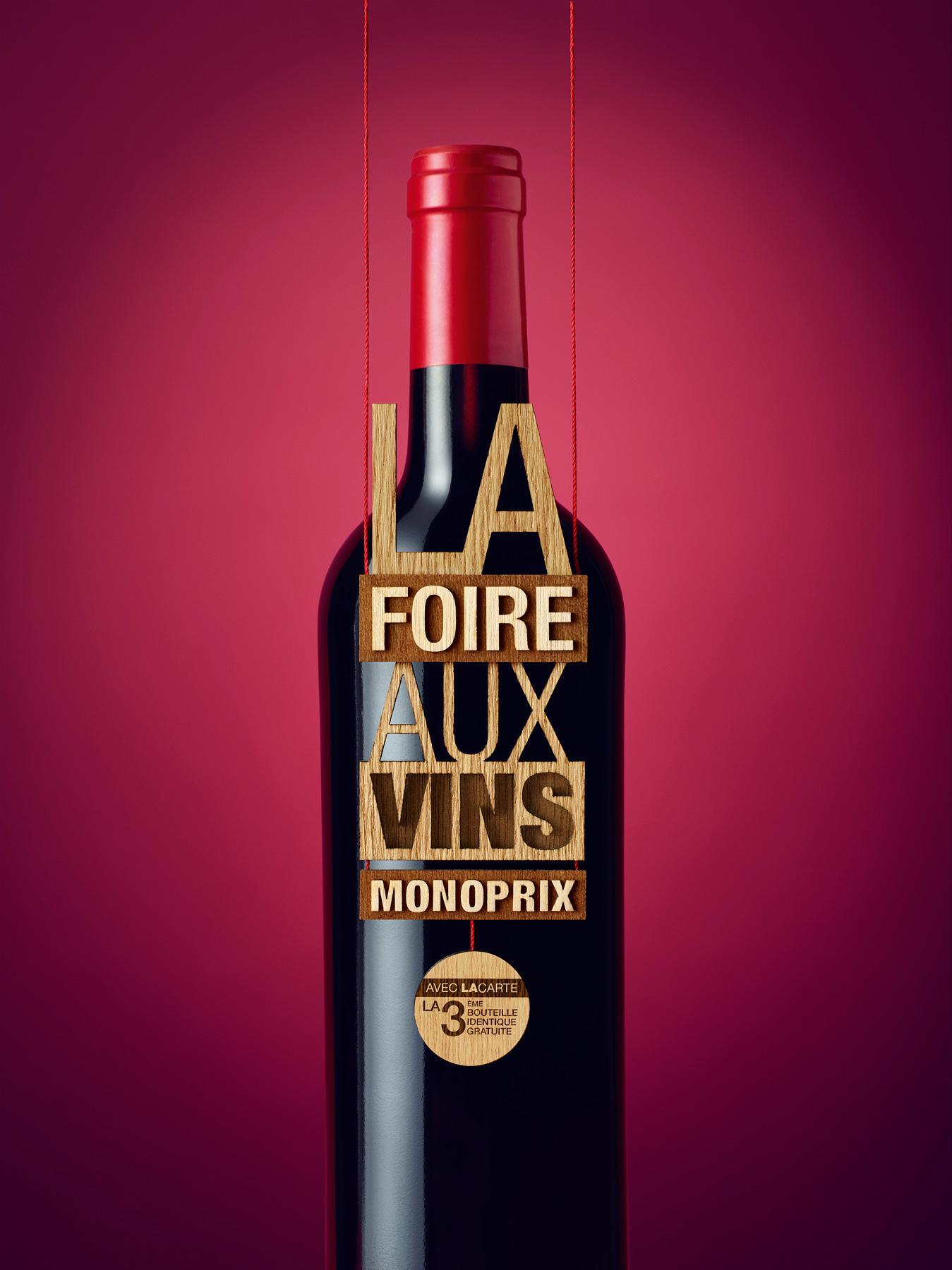 [Carte fidélité] 2 bouteilles de vin achetées = la 3ème offerte sur une sélection - Ex : 3 bouteilles de Ventoux rouge La Vieille ferme 2015 le 17/09