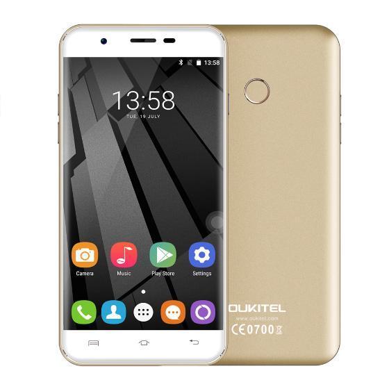 """[Précommande] Smartphone 5,5"""" Oukitel U7 Plus - Full 4G, Quad-core, 2 Go RAM, 16 Go ROM, plusieurs coloris"""