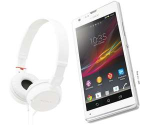 Smartphone Sony Xperia SP Blanc + Casque Sony MDR-ZX100