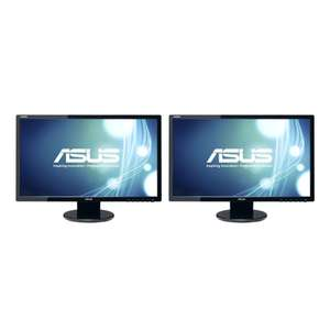 "Lot de 2 écrans 24"" Asus VE247H - Full HD, 2 ms"