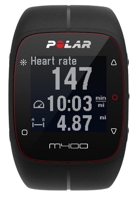 Montre Cardio/GPS  Polar M400 HR Multisport