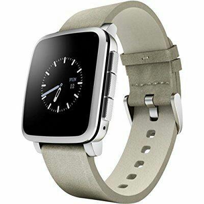 Montre connectée Pebble Time 511-00023 - Argent (étanchéité jusqu'à 30m et autonomie de 10 jours)
