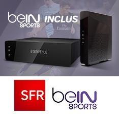 Abonnement mensuel SFR Box Power (THD ou ADSL) + BeIn Sport avec engagement de 12 mois - Location comprise