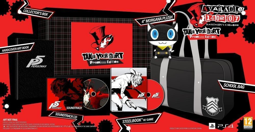[Précommande] Persona 5 : Take your Heart - Edition Premium sur PS4