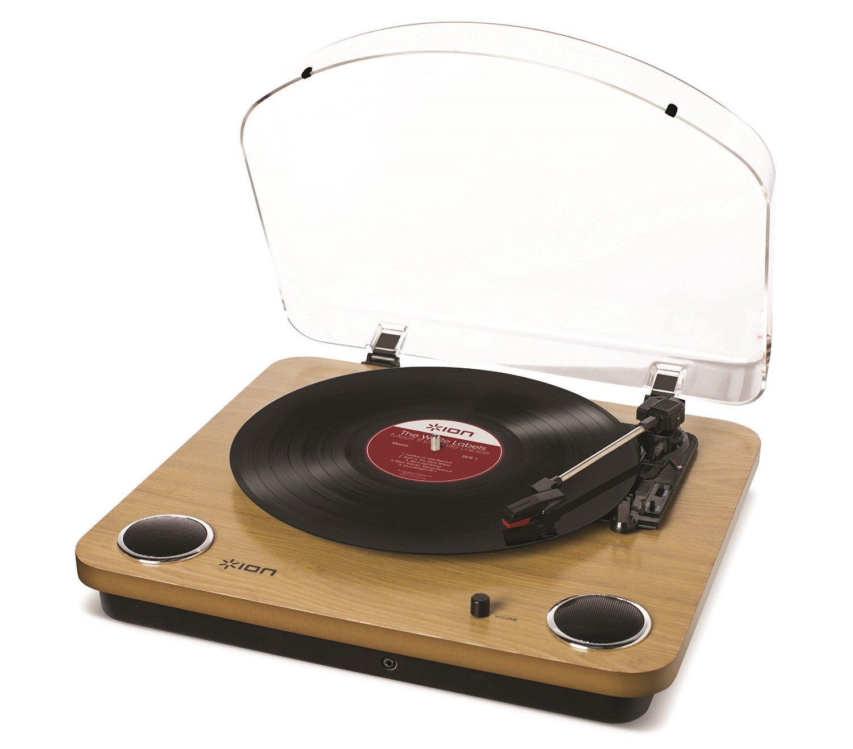 Platine Vinyle à Entraînement par Courroie Ion Audio Max LP (Finitions au choix) - Haut-Parleurs Intégrés, Convertisseur USB