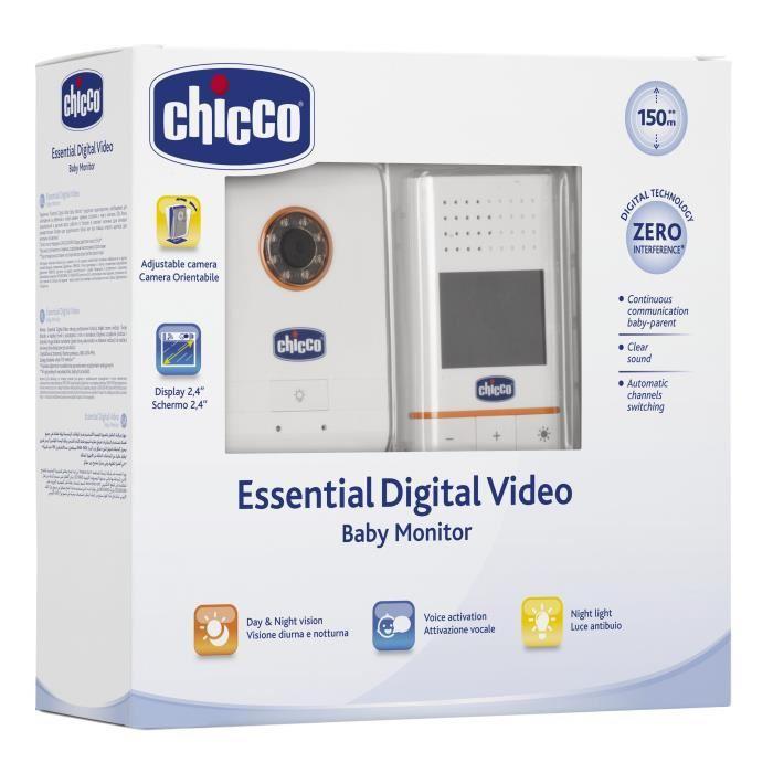 Écoute-bébé Vidéo Chicco Digital Essential