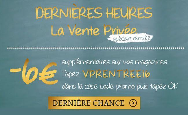 6€ de réduction  sur un abonnement Presse (hors Bayard et Milan Presse)