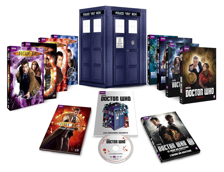 Coffret DVD Doctor Who - L'Intégral des 8 Saisons (43 disques)