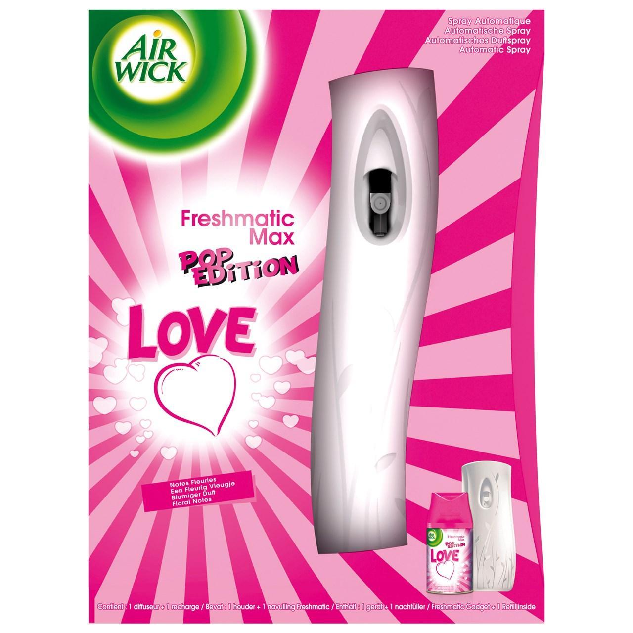 Diffuseur spray automatique Air Wick freshmatic max pop edition