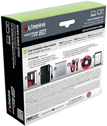 """SSD interne 2.5"""" (entreprise) Kingston KC300 (MLC) - 180 Go"""