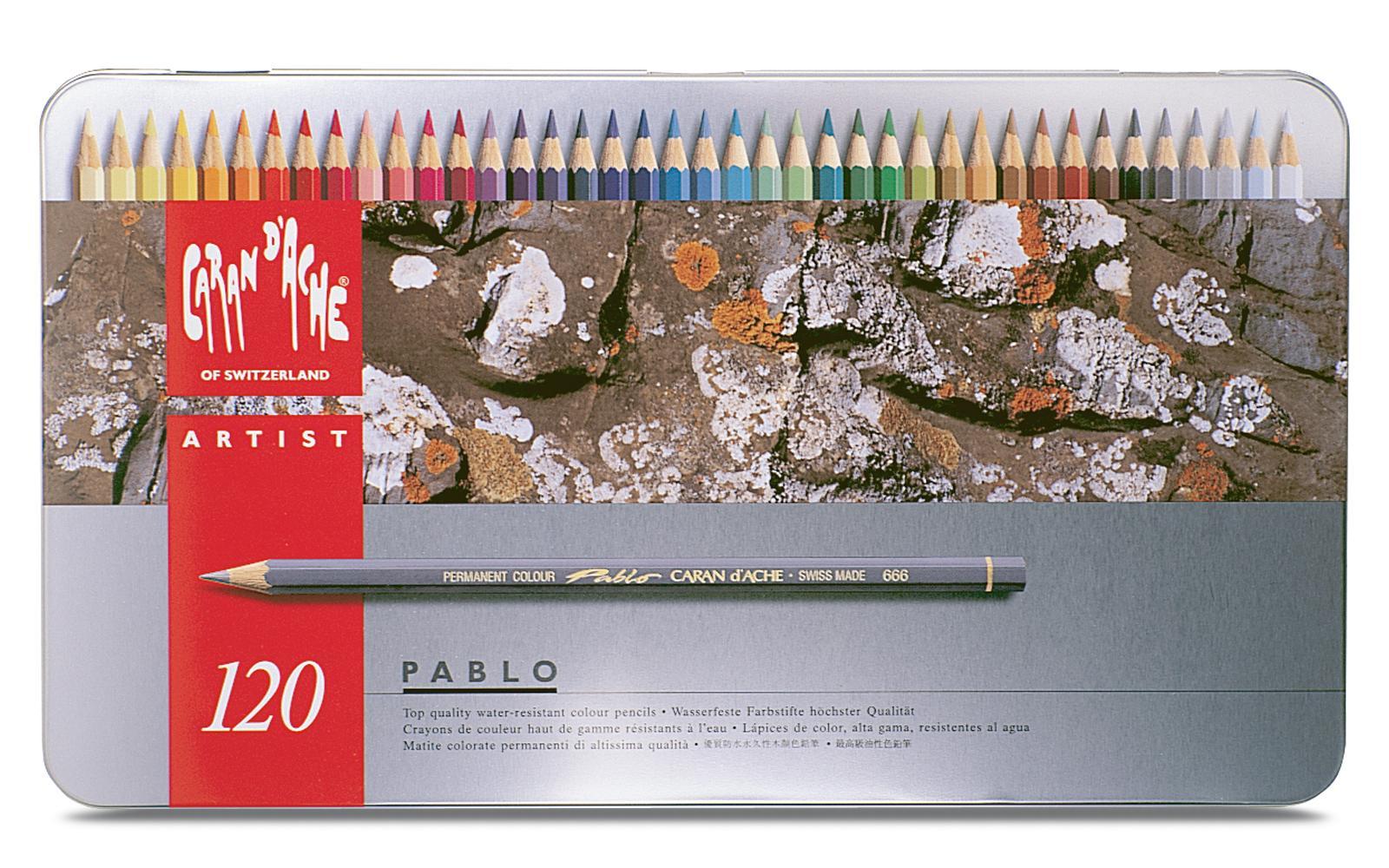Coffret métal 120 Crayons Supracolor Soft