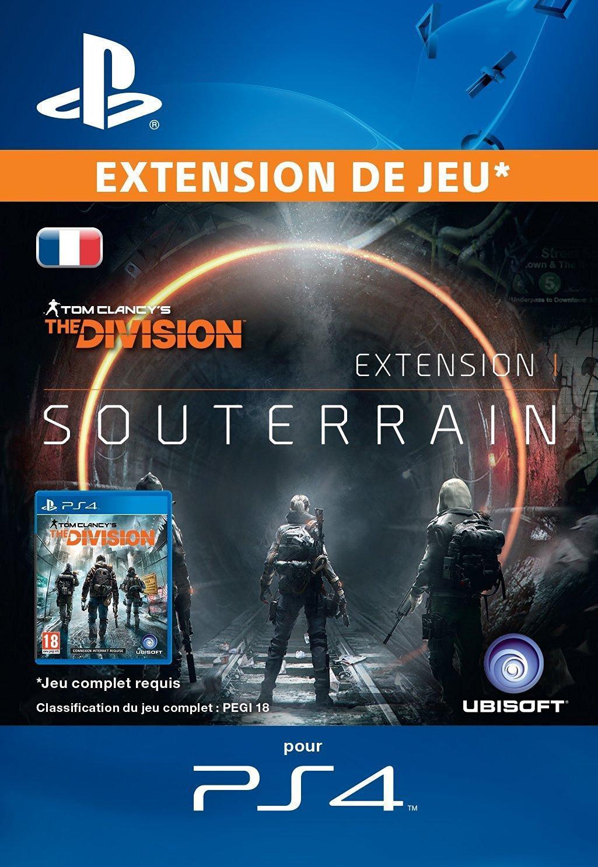 DLC Souterrain pour Tom Clancy's The Division sur PS4 (dématérialisé)