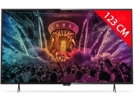 """TV 49"""" Philips 49PUH6101 - 4K UHD, 800 Hz, Smart TV"""