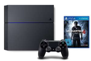 Console Sony PS4 500 Go + Uncharted 4