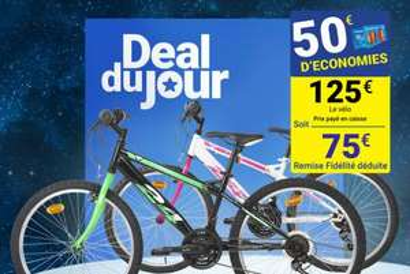 "Vélo 24"" first modèle fille ou garçon"