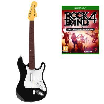Pack Rock Band sur PS4 et Xbox One (guitare + jeu)