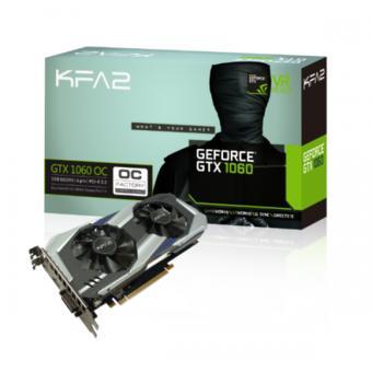 Carte graphique KFA2 GeForce GTX 1060 OC - 3 Go