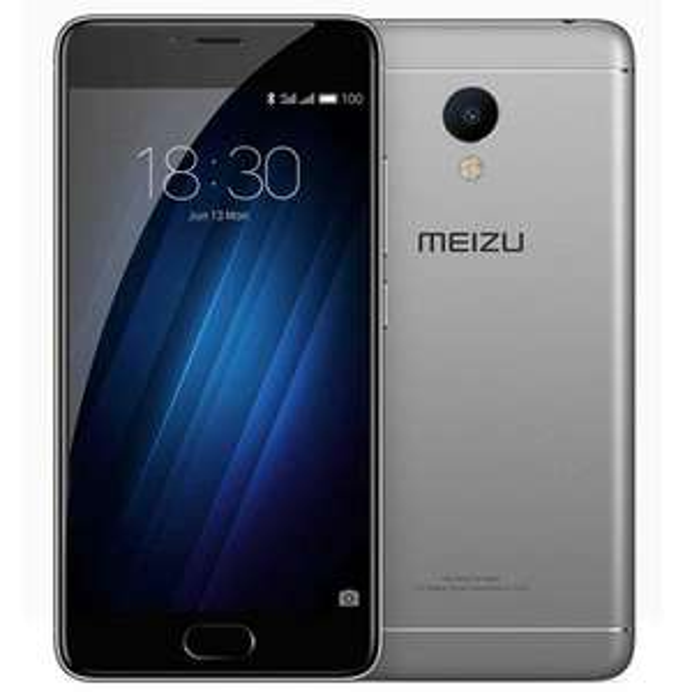 """Smartphone 5"""" Meizu M3s - 2 Go de RAM, 16 Go, 3020 mAh, gris"""