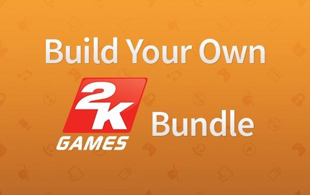 Build your own 2K Bundle : Jusqu'à -85% sur votre bundle de 3 à 5 jeux PC (Dématérialisé - Steam)
