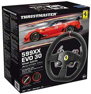 Volant Thrustmaster Ferrari 599XX Evo 30 - Add-On Alcantara Edition pour PC / PS3 / PS4 / Xbox One