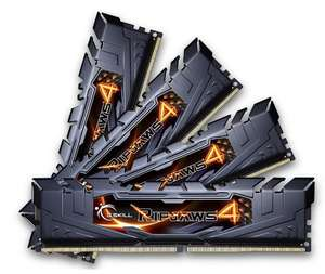 Kit Mémoire RAM G.SKill Ripjaws 16 Go (4 x 4 Go) - DDR4, 2400MHz, CL15