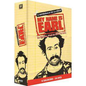 Coffret Intégrale My Name Is Earl (4 Saisons - 16 DVD)