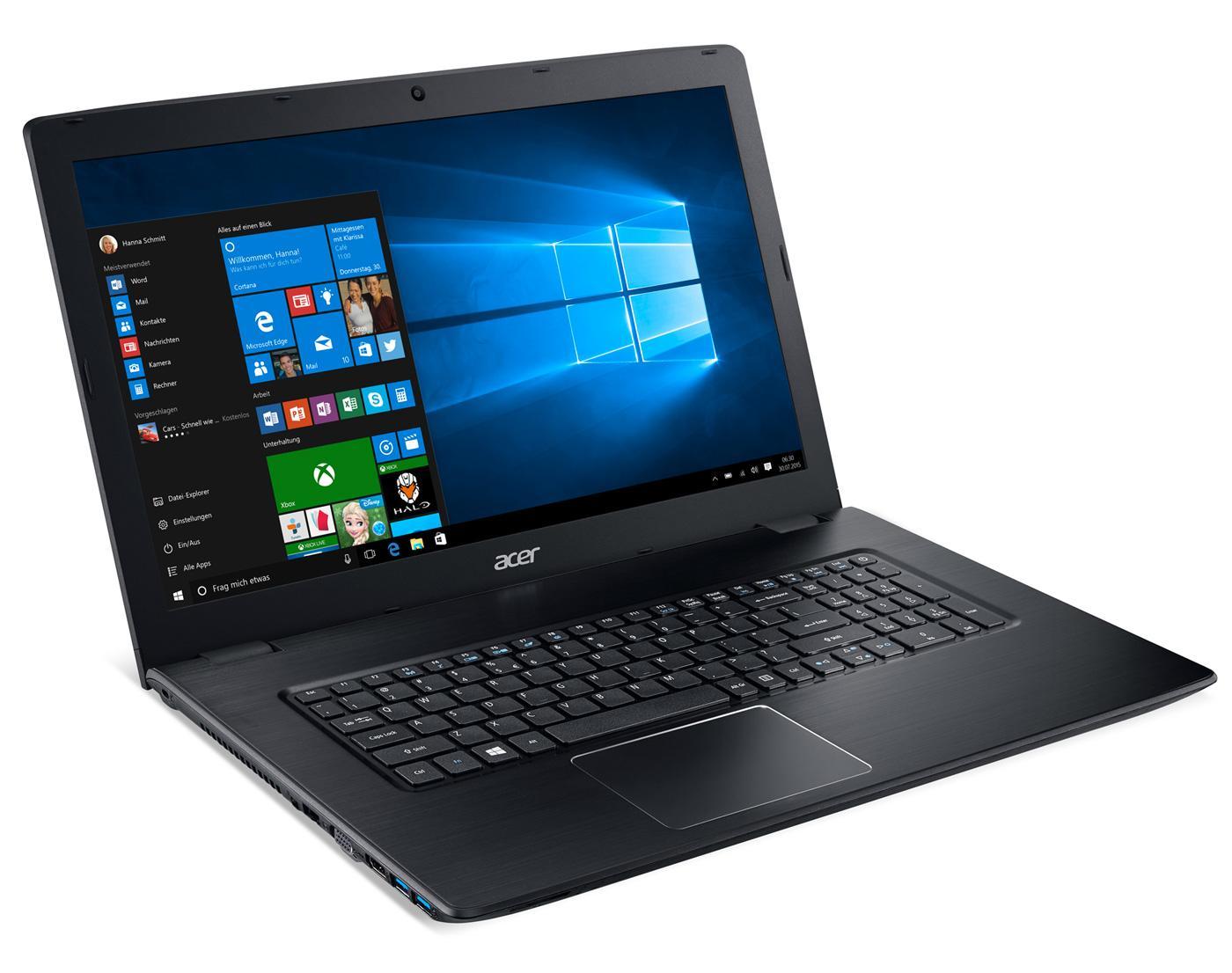 PC Portable Acer E5-774G-77JM - Intel i7-6500U, RAM 4 Go, HDD 1 To, GTX 950M (via 400€ sur la carte)