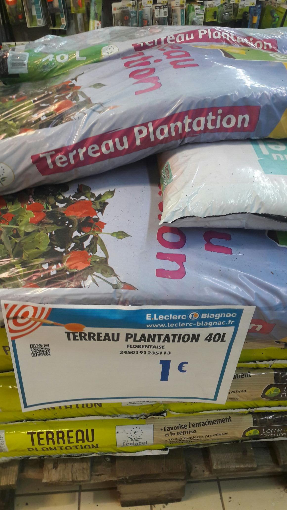 Sac de terreau plantation Florentaise - 40L