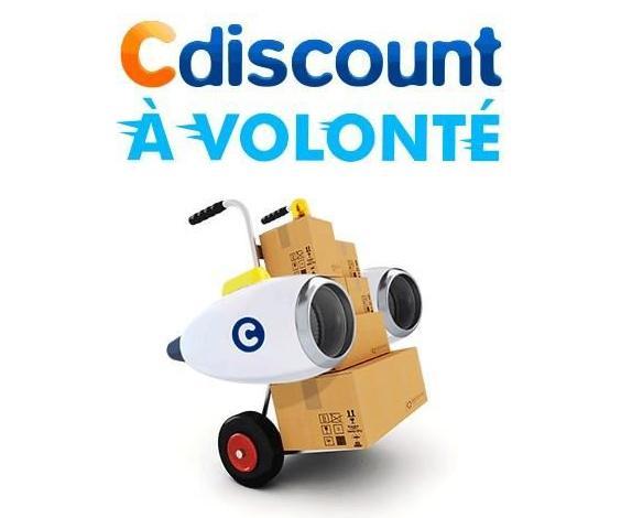Abonnement Cdiscount à Volonté (pendant un an)