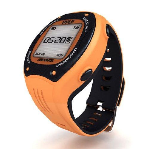 Montre numérique Pyle - orange (avec GPS)
