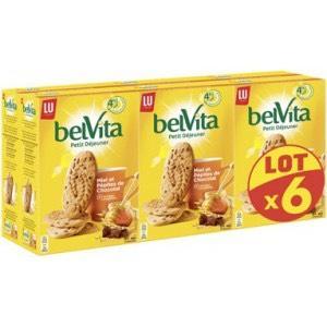Lot de 6 boîtes de Biscuits Belvita Petit Déjeuner