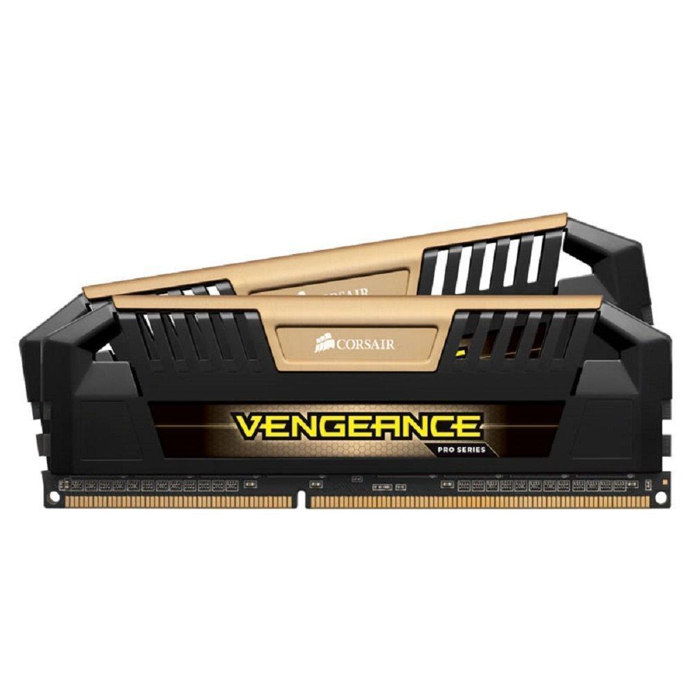 Kit mémoire RAM Corsair Vengeance Pro Series 16 Go (2 x 8 Go) - DDR3, 2400 MHz, PC3-19200, CL11