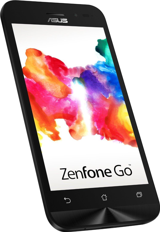 """Smartphone 4.5"""" Asus Zenfone GO (ZB452KG) Noir - Quad-core, Double SIM, ROM 8 Go, RAM 1Go, Android 5.1"""