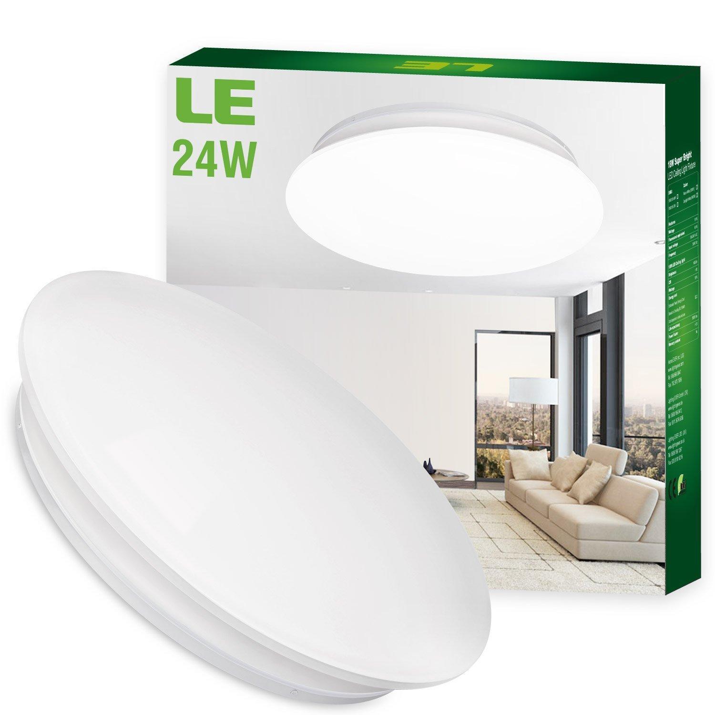 Plafonnier LED 24W, Ø41cm