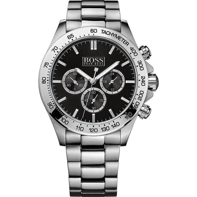 Montre homme Hugo Boss Sport 1512965 - Quartz, bracelet en acier