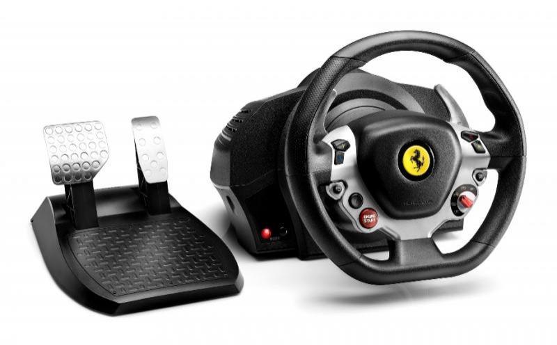 Volant Thrustmaster TX Racing Wheel Ferrari 458 pour Xbox One et PC - Italia Edition